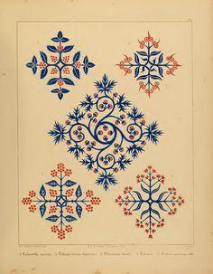 "the-two-germanys: ""Plate XX. Floriated Ornament, a series of thirty-one designs Augustus Welby Pugin London: Henry G. Fleurs Art Nouveau, Motifs Art Nouveau, Pattern Art, Pattern Design, Art Patterns, Floral Patterns, Tattoo Hamburg, Zentangle, Jugendstil Design"