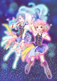 Nagisa and Chieri