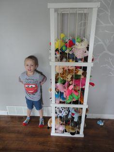 5 ft Model Stuffed animal storage by ByFolks on Etsy, $50.00  @Nicole Novembrino Hammond I can easily make you one lol