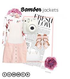 """BOMBER JACKET💖"" by imcute1550 on Polyvore featuring Gucci, Ballard Designs, Ted Baker, Miu Miu, Fujifilm, Michael Kors and bomberjackets"