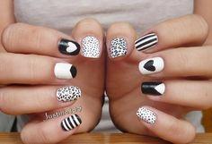 Fun & easy nail art ideas! -bellashoot.com
