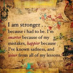 Learn the lessons from your challenges and move forward stronger and wiser. ❤ #Free2Luv #wisdom #quotes