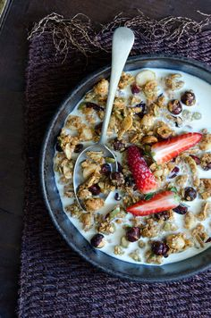 Honey, Maple, Nut and Quinoa Granola