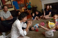 Proponents say signing promotes toddler brain development; popularity spawns new businesses.