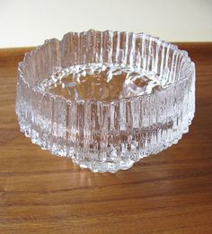 Designed by Tapio Wirkkala for Iittala, Finland. Votive has been in production during There is one air bubble at the bottom of the votive. Glass Candle, Clear Glass, Scandinavian Art, Votive Candle Holders, Decorative Bowls, Candles, Ebay, Vintage, Inspired
