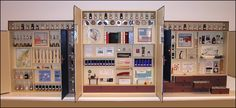 SUBMISSION: Cabinet of Wonders I created for the library at Carleton College, Northfield, Minnesota