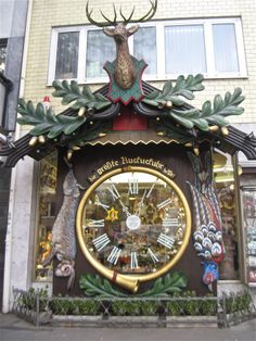 One of the World's Largest Cuckoo Clocks, Weisbaden, Germany