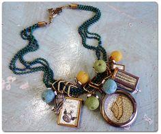 #DIY Time Flies Book Locket #Necklace #Tutorial #book #locket #gift