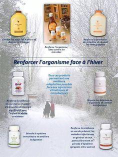 renforcer l-organisme face à l'hiver