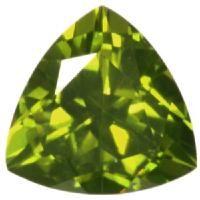 イタリアのベスブ火山で発見されたことが名前の由来だそうです 深い黄緑色で落ち着いた印象のルースです
