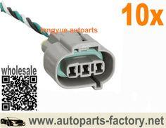 "long yue diesel engine speed sensor connector plug of denso three holes 8"""
