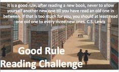 2018 Good Rule Reading Challenge