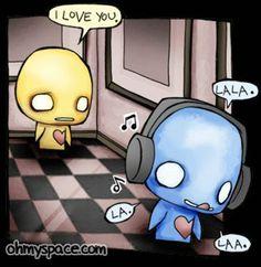 cute emo cartoon | cute emo love cartoons. Andi love me away emo ...