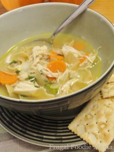 Frugal Foodie Mama: Support for Sandy- Good Ole Fashioned Chicken Noodle Soup