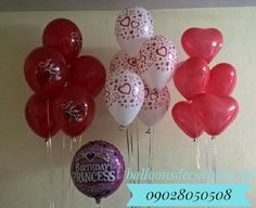 Helium Balloons Bouquets Helium Gas, Helium Balloons, Balloon Bouquet, Bouquets, Wine Glass, Cake, Birthday, Tableware, Desserts