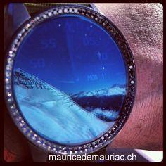 Davos #mauricedemauriac watch http://mauricedemauriac.ch/