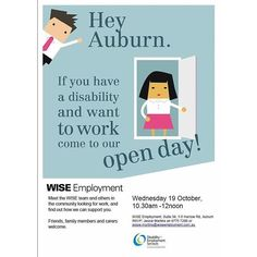 WISE Employment Auburn will be hosting a free Open Day about the benefits of…