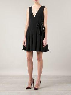 THAKOON side tie pleated dress