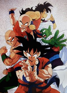 80s & 90s Dragon Ball Art — piccolospirit:   DRAGON BALL Z VINTAGE POSTER ...