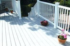 white deck stain white deck painting decking painted wood deck projects and news