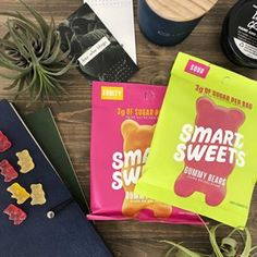 I am such a sweet tooth! Crave sugar habits with low sugar candy from Smart Sweets. I'm team sour over sweets. ;) Full review here. Effects Of Sugar, Sugar Effect, Smart Snacks, Sugar Candy, Sugar Cravings, Gummy Bears, Some Recipe, Low Sugar, Candy Recipes