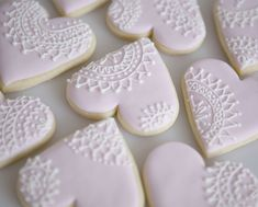 Vintage Lace Cookies by Sweet Tiers, via Flickr