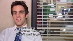 """15 Signs You're Ryan Howard From """"The Office"""" Us Office, The Office Show, Office Cast, Ryan Howard The Office, Smile Tv, Office Jokes, Funny Office, Parks And Recs, Shy People"""