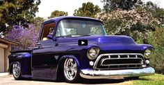 Love Hot Rods? Check Out This Wicked '57 Chevy 3100 Truck