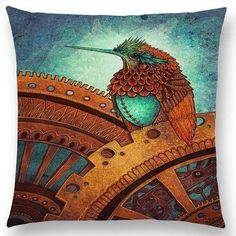 """""""Good Omen"""" Pillow Covers --New New New!"""