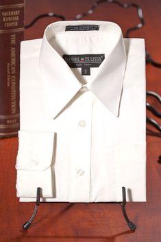 1d3f4223583 Boys Long Sleeve Dress Shirts - Daniel Ellissa - - Boys Ivory Dress Shirt  by Daniel