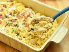 Macaroni and Cheese with Chicken, Caramelized Onions and Bacon Recipe on Yummly. @yummly #recipe