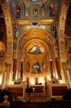 Cappella Palatina, Palermo  -  Italia