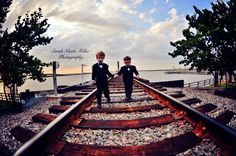 Train tracks in Bradenton, FL