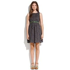 Treeshower Tank Dress // Madewell