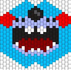 FNAF Toy Bonnie Mask Bead Pattern