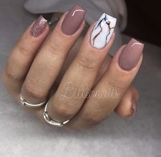 Make an original manicure for Valentine's Day - My Nails Manicure, Aycrlic Nails, Hot Nails, Hair And Nails, Nail Nail, Best Acrylic Nails, Summer Acrylic Nails, Acrylic Nail Designs, Summer Nails