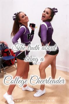 Want to be a cheerleader at college? Deciding on what societies and sports clubs to join in university? I will share with you the reality of being a cheerleader in college. Is it really all about mean girls and being popular? Or is it more about teamwork, commitment, hard work and fun?