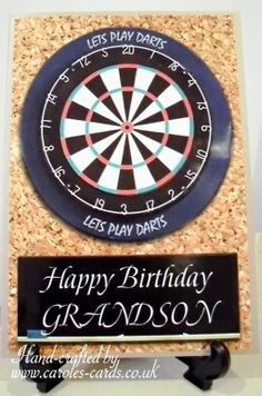 Darts board birthday - dart, sport, male, Dad, Uncle, Brother father, 180