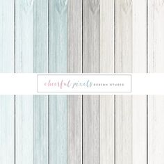 12x12 High Resolution Digital Paper 300 DPI Wood by CheerfulPixels