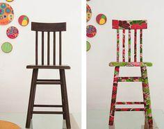 Antes e depois cadeiras