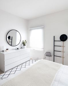 minimal modern bedroom
