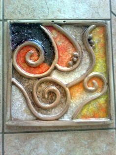 With intricate designs and a wide array of patterns, decorating homes with ceramics has become quite the big trend in … Clay Wall Art, Ceramic Wall Art, Tile Art, Ceramic Pottery, Pottery Art, Clay Art Projects, Ceramics Projects, Clay Crafts, Art Diy