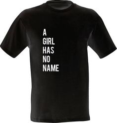 Game of Thrones Shirt / Arya Stark Clothing / A Girl Has No