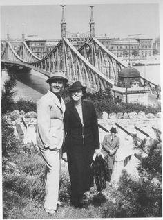 Jan Kiepura & Wife – 1939, Budapest