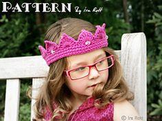 Ravelry: Princess Crown - Tiara - Crochet PDF Pattern pattern by Ira Rott