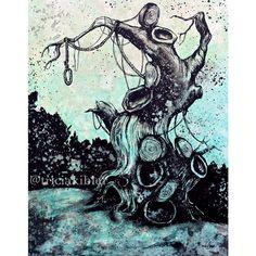 """""Hangman's Tree"" By triciakibler"