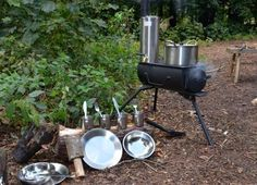 Frontier Stove and accessories