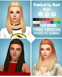Kimberly Hair [#ts4_adult_hair]
