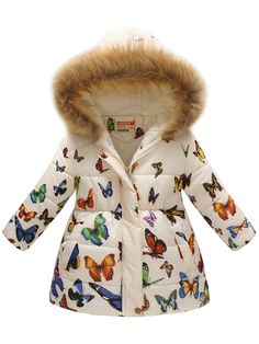 Shop a great selection of FEITONG Toddler Baby Girls Boys Winter Floral Thick Warm Jacket Hooded Windproof Coat. Find new offer and Similar products for FEITONG Toddler Baby Girls Boys Winter Floral Thick Warm Jacket Hooded Windproof Coat. Girls Winter Coats, Kids Coats, Kids Winter Clothes, Winter Kids, Fall Winter, Zara Kids, Girls Coats & Jackets, Outerwear Jackets, Camouflage Coat