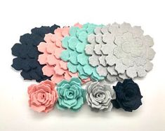 This is listing is for 12 pcs felt rose flowers, you will receive the pieces for 3 flowers of each color. Size flower is Items ready for shipment. Feel free to contact me with any questions. Felt Roses, Felt Flowers, Diy Flowers, Fabric Flowers, Paper Flowers, Rose Flowers, Felt Flower Headbands, Felt Diy, Felt Crafts